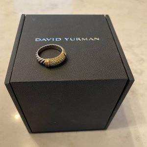 David Yurman Yellow Sapphire Ring